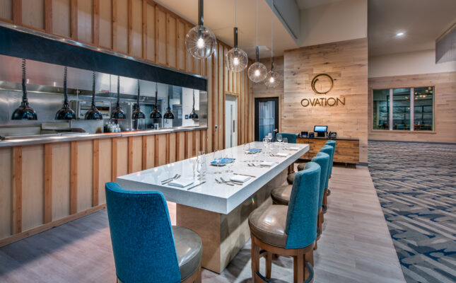 Chef's Table at Ovation